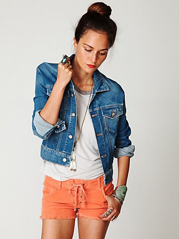 Lace-Up Cord Shorts