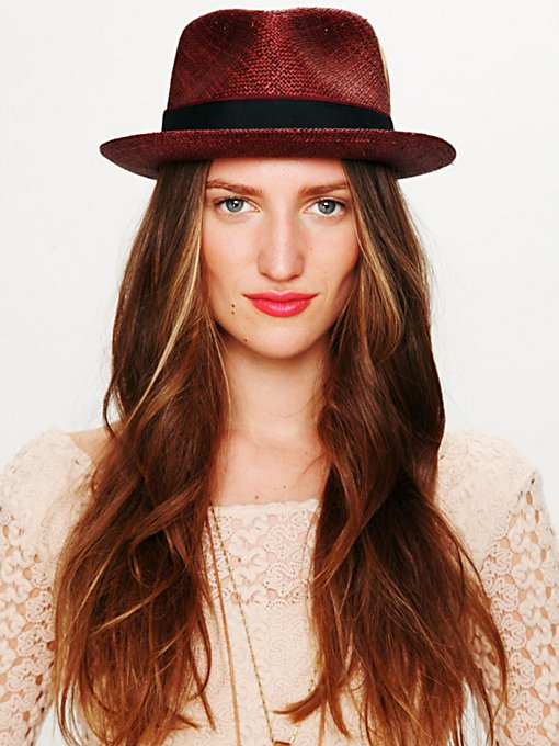 Sam Feather Trim Fedora