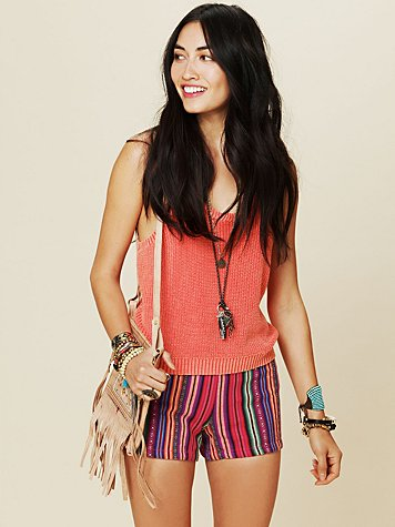 Free People El Cortez Highwaisted Short