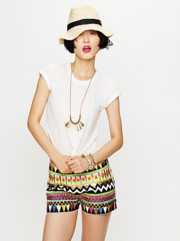 All Over Embellished Short