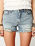 5 Pocket Cuffed Denim Cutoff