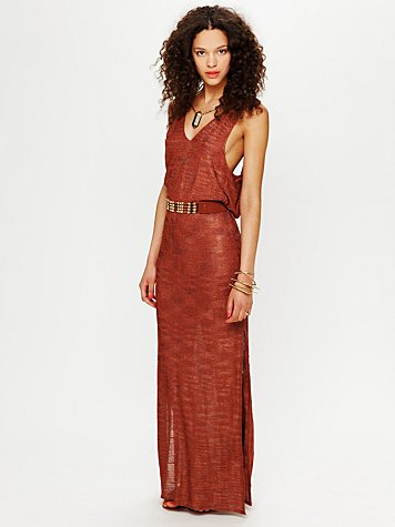 Free People Floating Goddess Dress