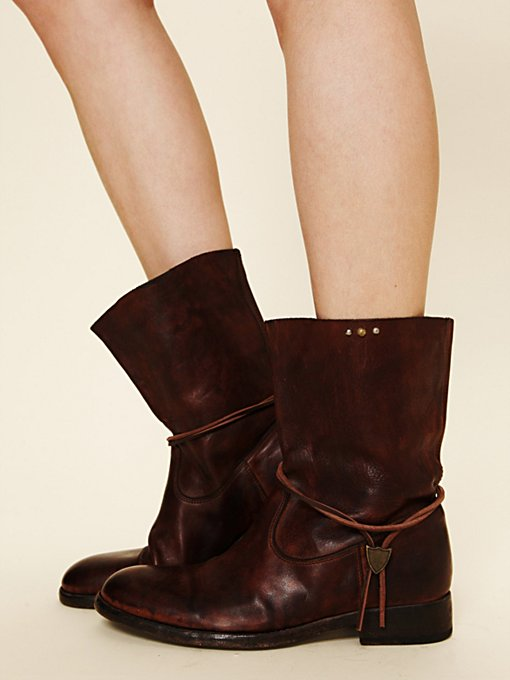 HTC Sienna Leather Boot in shoes-boots