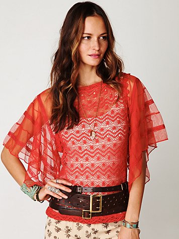 FP New Romantics Flower Child Tunic