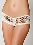 Rose Pointelle Boyshort