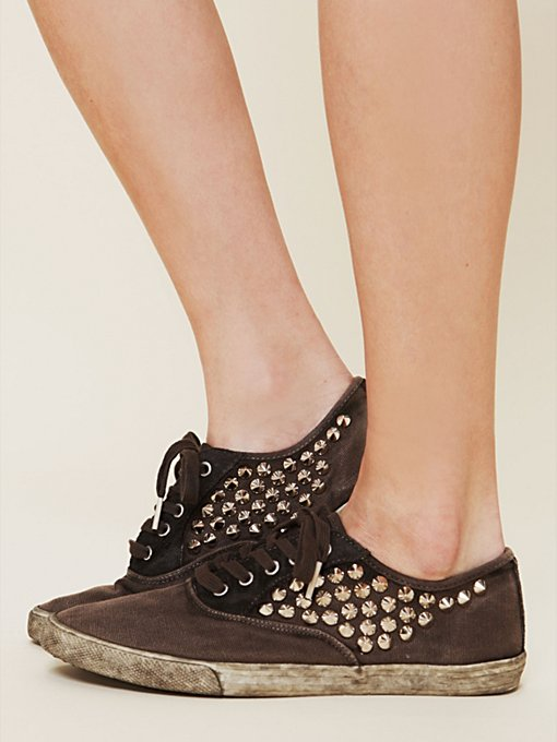 Studded Muddy Waters Sneaker in shoes-sneakers