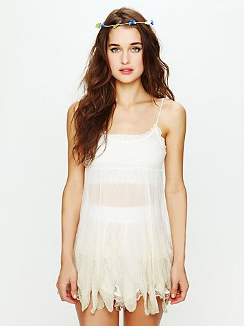 Intimately Free People Ombre Chiffon Slip