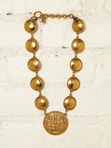 Free People Vintage Chanel Necklace