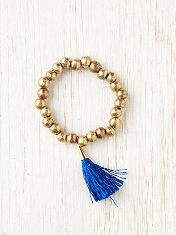Free People Russian Doll Fringe Bracelet