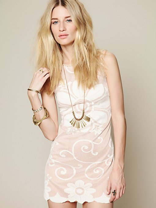 FP New Romantics Nearly Famous Shift Dress
