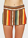 Stripe Micro Mini Skirt