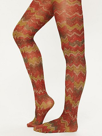 Free People Flamestitch Tight