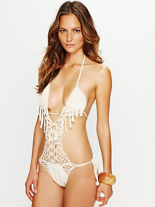 Crochet Fringe One Piece