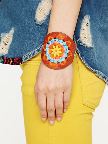 Desert Valley Leather Cuff