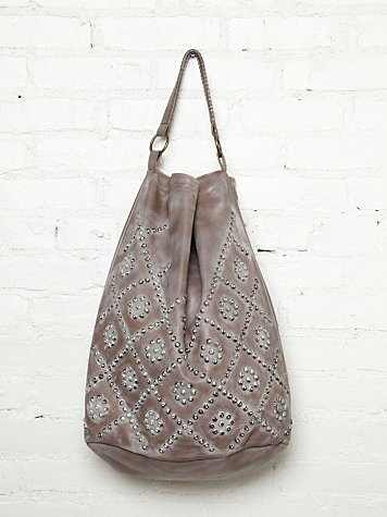White Wash Stud Hobo