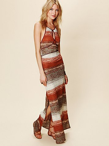 Free People All Day Long Ribbed Dress