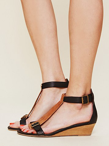 Jeffrey Campbell Province Mini Wedge Sandal