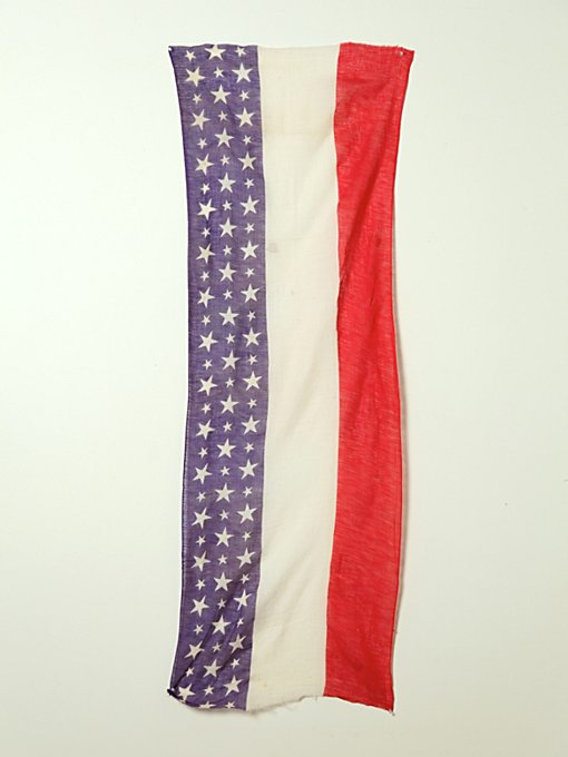 Vintage 48 Star WWI American Flag in vintage-loves-objects