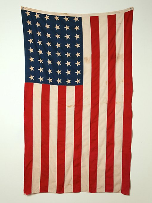 Vintage 48 Star American Flag in vintage-loves-objects