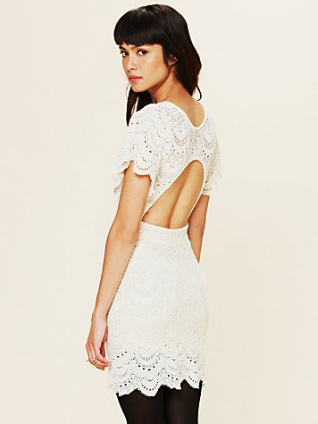 Flutter Spanish Lace Dress