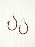 Fabric Wrap Earrings