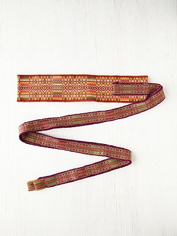 Andean Collection Los Alta Obi Belt