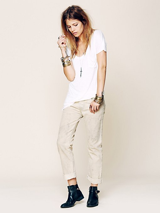 Oil Stained Boyfriend Jean in catalog-july-12-catalog-july-12-catalog-items