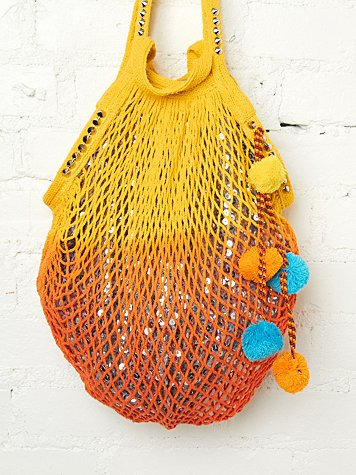 Shimmering Beach Bag