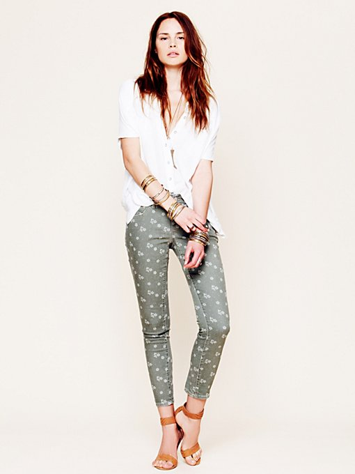 Ditsy Floral Ankle Crop in catalog-july-12-catalog-july-12-catalog-items
