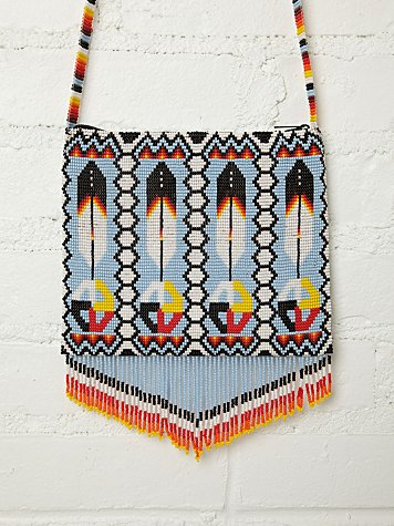 Precious Hands Solstice Beaded Crossbody