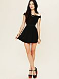 Sibling Bandeau Skater Dress