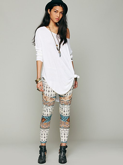 Novella Royale Printed Pusher Pant