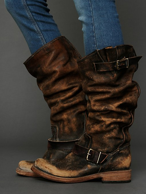 Freebird by Steven Contra Washed Tall Boot in Knee-High-Boots