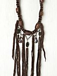 Leather Strand Necklace