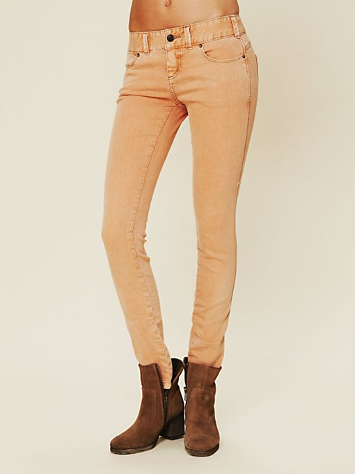 Colored Skinny Jean