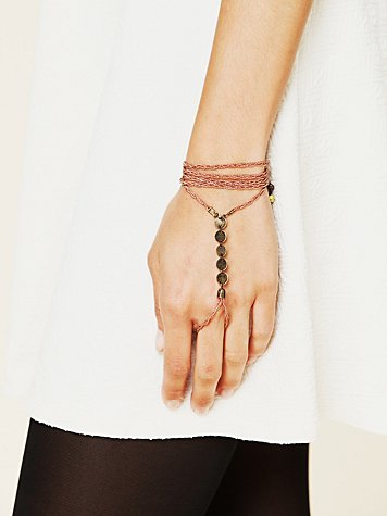 Free People Beaded Tassel Handpiece