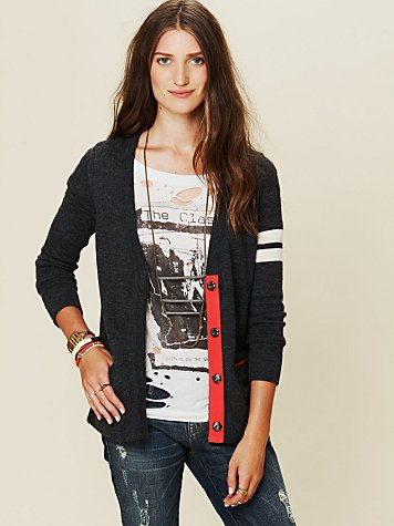 Free People Collegiate Cardigan