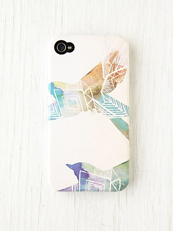 Free People Illustrator iPhone 4/4S Case