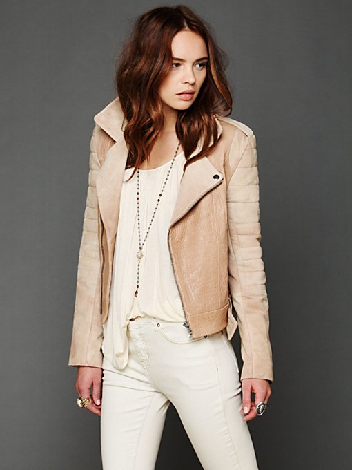 Cote  Leather Jacket in Jackets