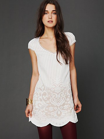 Free People FP New Romantics Speak Easy Shift Dress