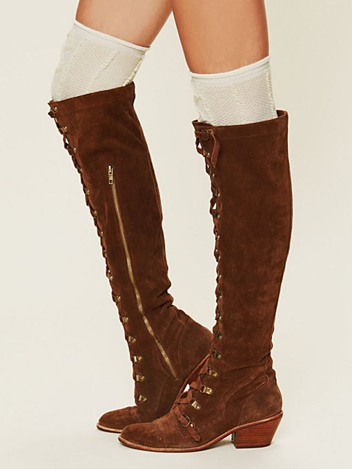 Jeffrey Campbell Johnny Tall Boot in Knee-High-Boots