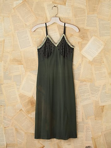 Vintage Sleeveless Slip Dress