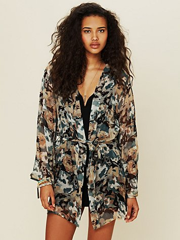 Opal Short Night Robe