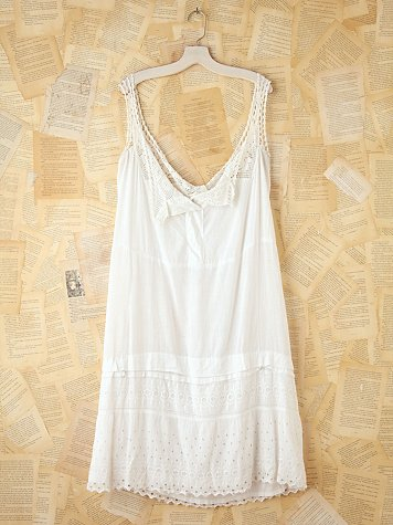 Free People Vintage Cotton Tank Dress