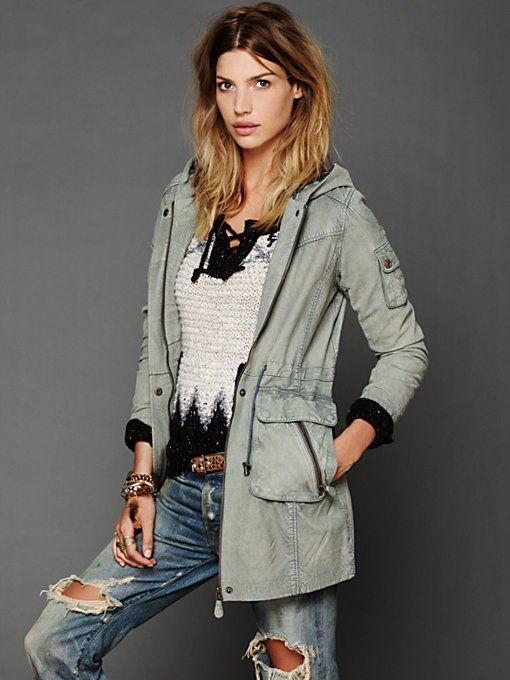 Hooded Leather Jacket in catalog-oct-12-catalog-oct-12-catalog-items
