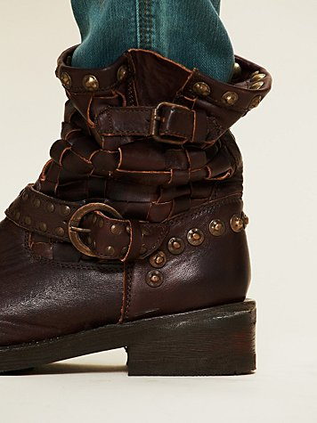 Ash Tequila Engineer Boot at Free People Clothing Boutique :  leather boots ash ankle boots boots