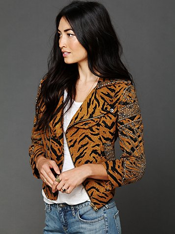 Free People FP New Romantics Year Of The Tiger Jacket