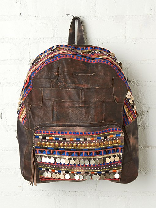 Alameda Embellished Backpack in Take-Me-Away