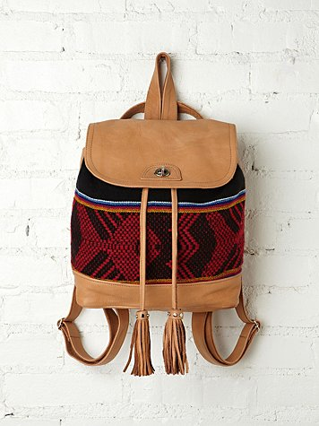 Sabrina Tach Sadie Print Backpack
