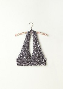 Leopard Printed Galloon Halter in Intimates-the-lace-shop